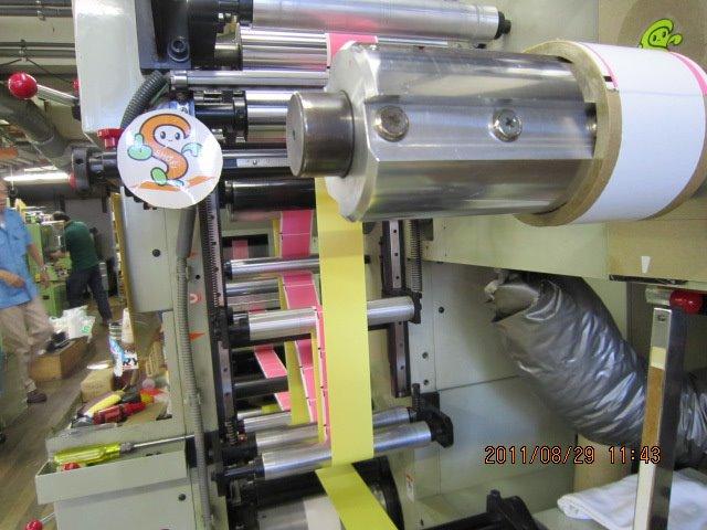 シール印刷機